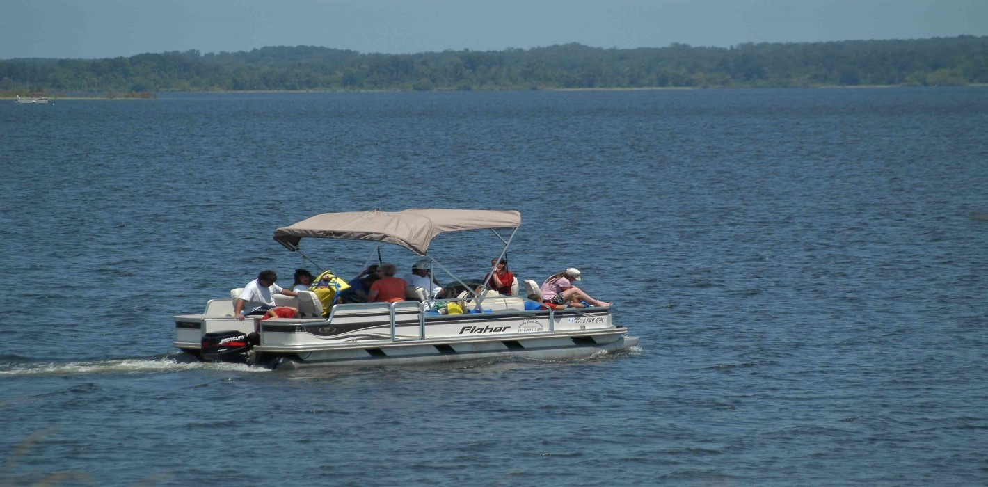 Pontoon Boat Lake Sam Rayburn