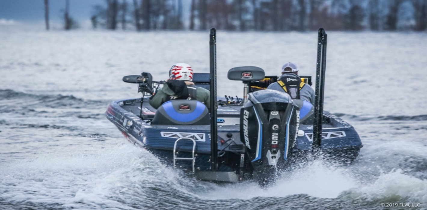 Bass Boat Lake Sam Rayburn