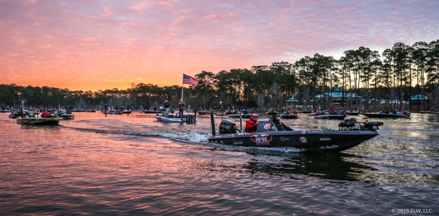 Tournament Take Off Umphrey Pavilion Lake Sam Rayburn